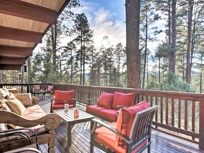Photo for NEW! 7-Acre Ruidoso Home w/Mtn View by Ski Apache!