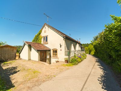 Photo for THE OLD CHAPEL, pet friendly, with hot tub in Stiperstones, Ref 30035