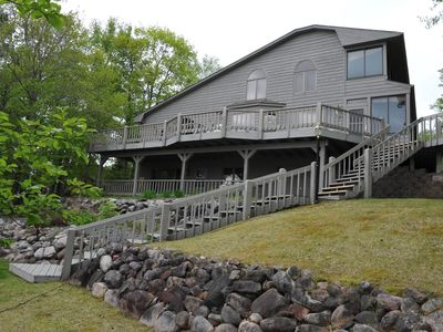 Photo for Sandy beach on lower whitefish. 3400 SqFt