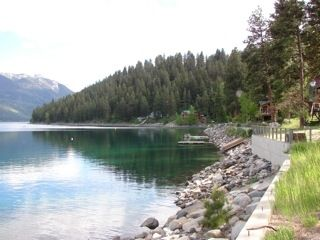 Photo for Lovely Lakefront Home on Wallowa Lake W/PrivateBoat Dock