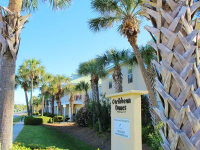 Photo for Caribbean Dunes 122, this condo is just across the street from the Beach!