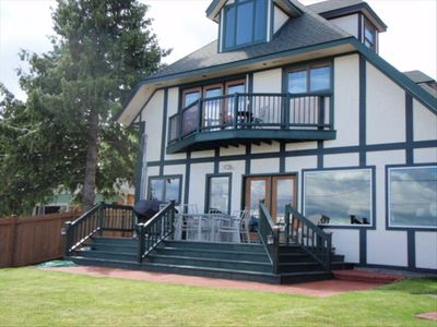 Photo for Large Flathead Home  'The Chateau' 6 Bedroom  Sleeps 21 Plus
