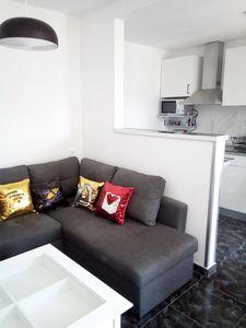 Photo for 2 Bed/2 Bath, Newly renovated apartment, 2 min from the St. Antonio beach