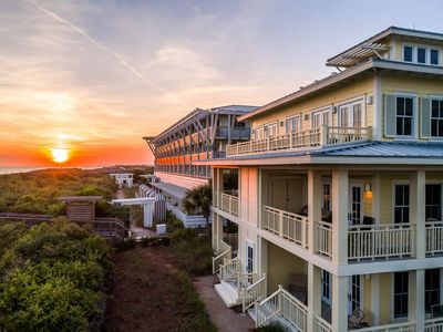 Photo for NEW LISTING! Gulf Front WaterColor Beachside Unit 2 by Royal Destinations