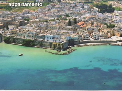 Photo for Unique apartment with 2 large terraces,  4 min walk from Otranto centre and sea