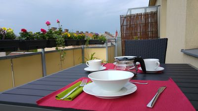 Photo for Visit Vienna - Bright Roof Terrace Apartment