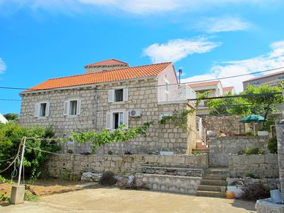 Photo for Apartments and rooms Antun, (13052), Lumbarda, island of Korcula, Croatia