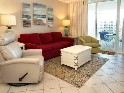 Photo for Sandpiper 602--Completely updated! 2 Br+Bunk Bay View Condo