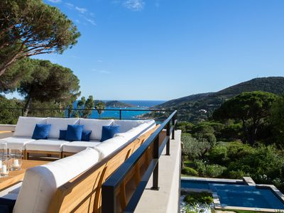 Photo for Exclusive villa in Ramatuelle near Saint Tropez