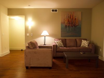 Photo for The Robin's Nest, 2 bed/2 bath luxury apartment in The Domain Northside, Austin