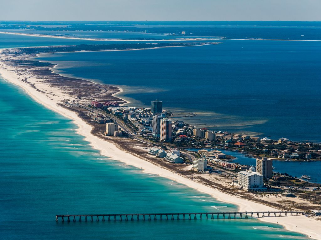 Emerald Isle Spectacular View From 11th Floor Oceanfront Condo Pensacola Beach Florida