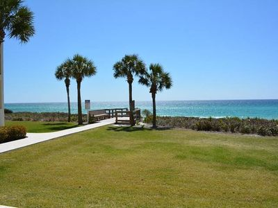 Photo for Updated Gulf Front Condo ~ 1st Floor ~ Near famous Seaside Fl along 30A Seagrove Beach