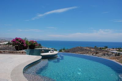 You can't beat the views from the pool