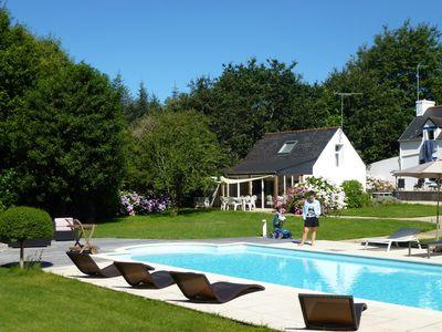 Photo for Mignon Penty with pool, quiet and close to beaches
