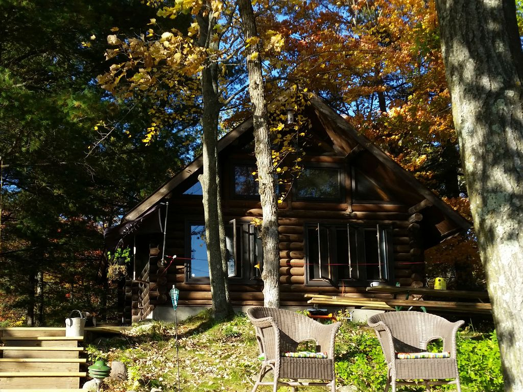 Quiet nordic cabin on premier silver lake dock trails for Fishing cabin rentals wisconsin