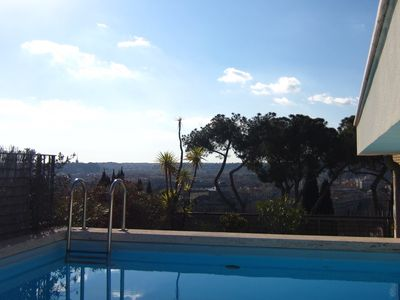 Photo for Breathtaking view penthouse - private swimming pool in a large terrace
