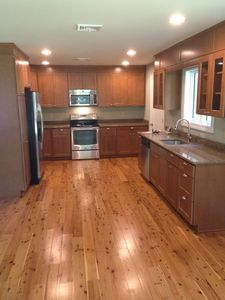 Kitchen, Granite Countertop and SS Appliances