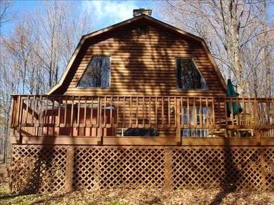Photo for 3BR Cabin Vacation Rental in Salamanca, New York