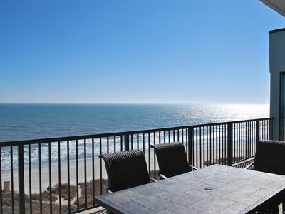 Luxury Oceanfront Three Bedroom Three Bath Penthouse w/ Two Balconies!