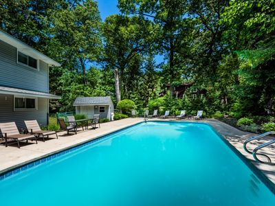 Photo for Large Home with Private Pool and Walking Distance to Association Beach!