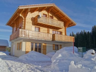 Photo for Apartment Near the slopes in Chalet on the Station des Rousses-Lamoura