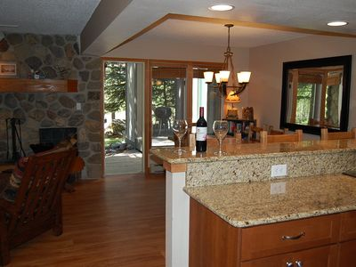 Photo for 3B/3B Creekside Luxury! Just off Historic Main Street! Walk to everything. Pool!
