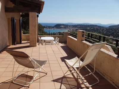 Photo for Family villa very beautiful sea view CAVALAIRE 115m2