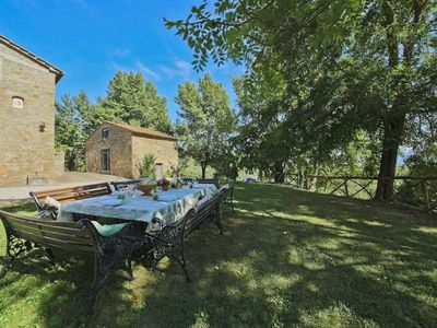 Photo for Independent villa with panoramic swimming pool in Mugello near Florence, Tuscany