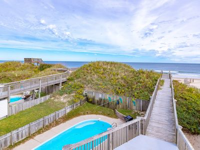 Photo for K1327 Paradise Found Between the Ocean & Sound: Elevator, Pool, Pet Friendly!