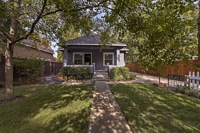 Explore Chico in all its glory from this 3BR, 2-bath vacation rental cottage!