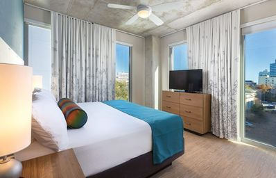 Photo for 1BR Condo  Sleeps 4 Walk to ACL, SXSW &  6th St.  Downtown