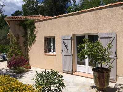 Photo for small independent villa (between Nice and Grasse)