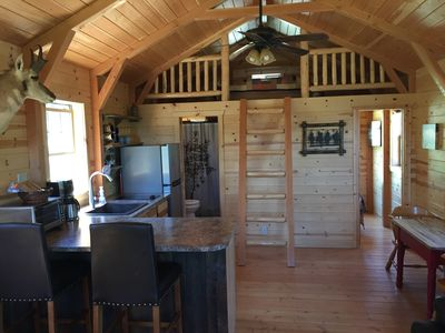 Photo for Head Down Hideaway Luxury Montana Cabin on 45 Acres Near Yellowstone!