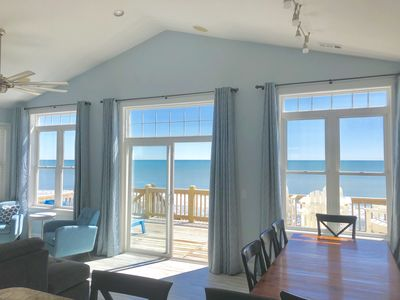 Photo for New Full Remodel 4/11/19 Private Oceanfront with Hot Tub Sleeps 12