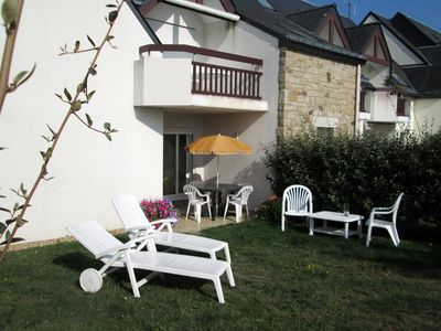 Photo for Quietly, 3 rooms for 6 pers. with garden in residence with swimming pool and Wi-Fi