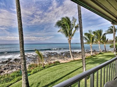 Photo for Napili Shores I-269 - Direct Oceanfront Upstairs Corner unit with Spectacular Ocean Views