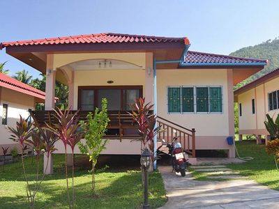 Photo for 1 Bedroom House with Terrace, Lamai