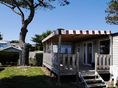 Photo for Camping Brandais *** - Mobile home PMR 3 Rooms 6 People