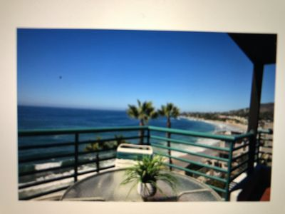 Photo for BEST OCEANFRONT APARTMENT! Sleeps 4!  Walk everywhere!