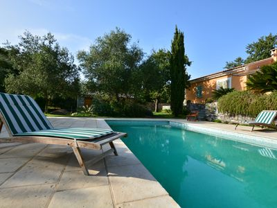 Photo for PATRIMONIO heart village and vineyard, luxury villa with private pool.