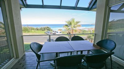 Photo for Beachview: Spectacular Coast Views, walk to beach, Blue Pool & shops - Sce33