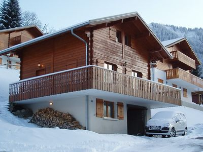 Photo for Cosy Ski Chalet Ideal for Families Or Group of Friends. Lovely in Summer Too!