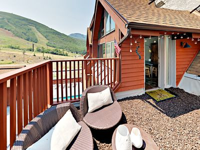 Photo for Turnkey - 3BR Ski-in/Out Condo at Park City Base w/ Hot Tub & Rooftop Patio