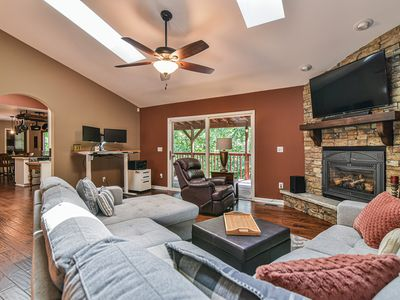 Photo for NEW XL House in Asheville - Sleeps 13+