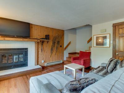 Photo for NEW LISTING! Centrally located condo w/deck-near Dillon Reservoir, bus to slopes
