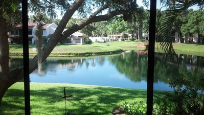 Photo for Tarpon Woods Condo with Lake View