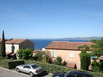 Photo for Saint Raphael - Sea view, 2 rooms, swimming pool
