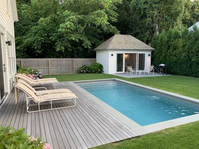 Photo for New pristine 5 BR home walking distance to East Hampton village