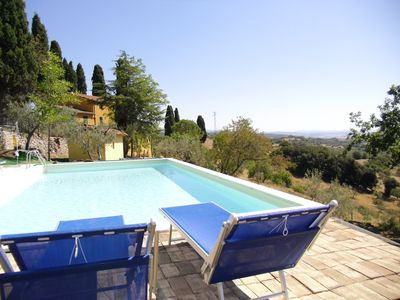 "Photo for Podere ""Il Luogo"": 2 Apt. In Scansano, max 14 persons, Swimming pool, Sea, Spa"
