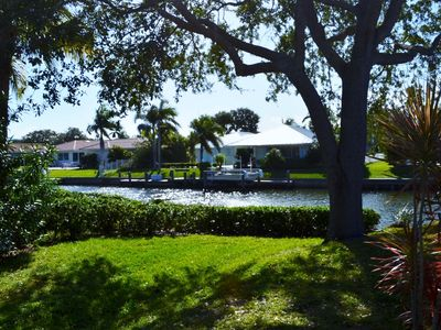 Photo for Upscale Waterfront Home with Manatees in Your Back Yard